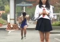 岛国趣味试验:跑多快,才能吹起女生的短裙