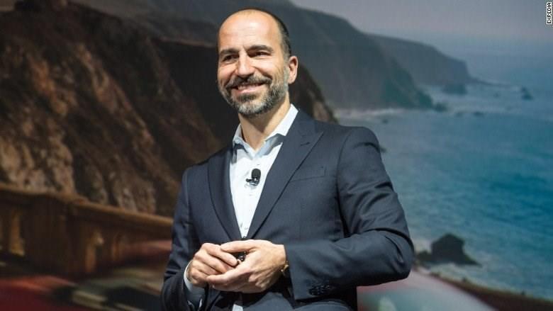 Uber官方正式宣布科斯罗萨西担任新任首席执行官