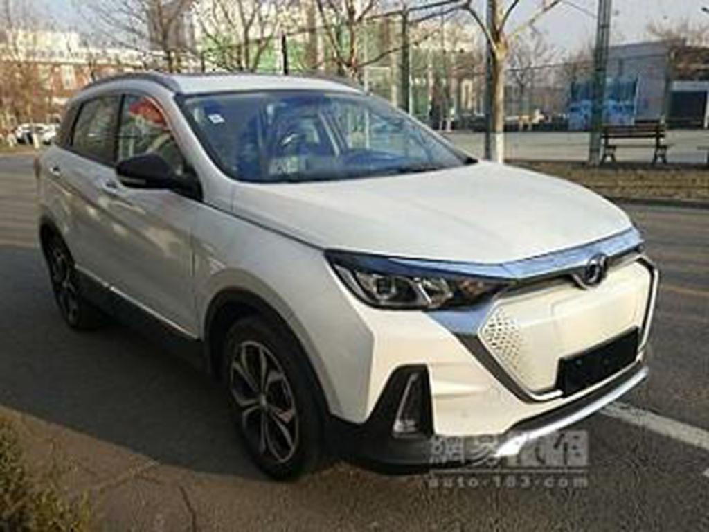 高颜值 北汽新能源EX5将于北京车展亮相