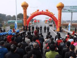 迎接2018!钦灵一级公路陆屋至灵山段建成通车