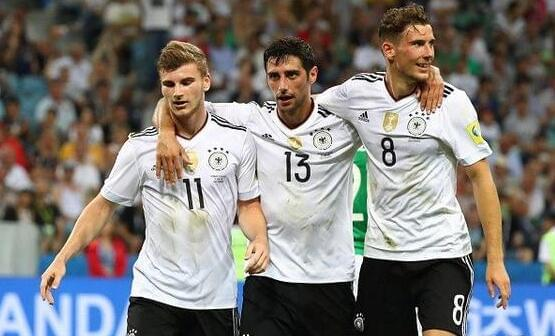 2017年俄罗斯联合会杯决赛,德国队VS智利队