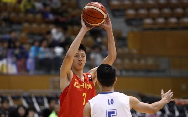 东亚赛-中国男篮90-60中国香港