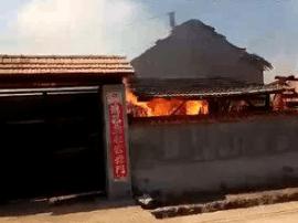 吉林一村庄起火连烧47栋房屋 网友自发捐赠棉衣