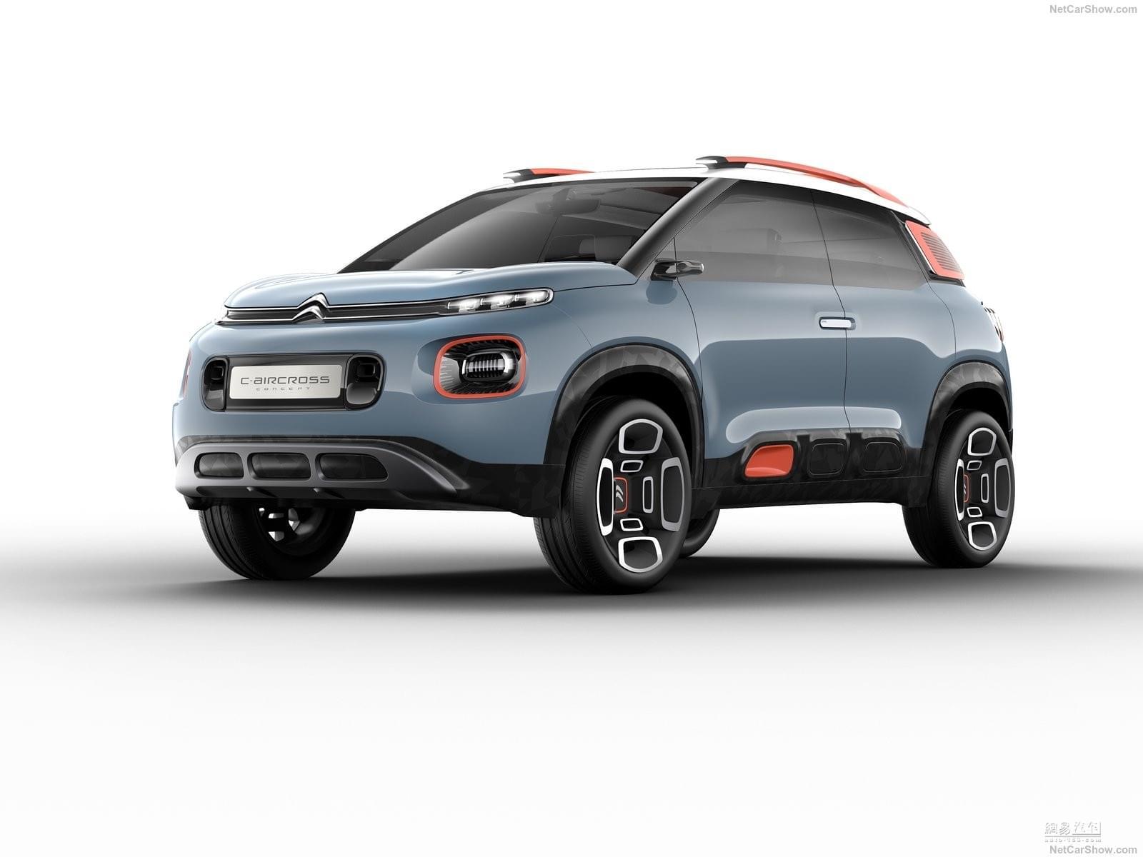 定位紧凑型SUV C-Aircross Concept官图发布