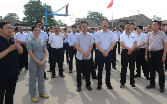 临汾市清洁取暖工程建设现场推进会在襄汾县召开