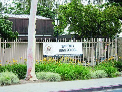 加州知名公立高中惠特尼高中