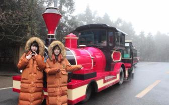 武隆旅游达人携偶像女团CKG48自驾游武隆  48小时不间断直播获500万关注