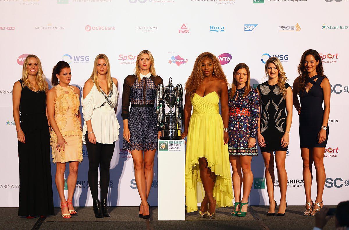 WTA总决赛就像是辣妹时尚派对