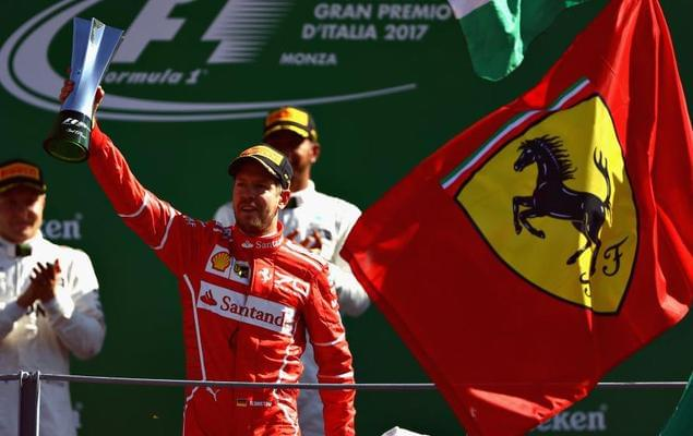 F1意大利站成红色海洋 可包揽一二的是梅奔