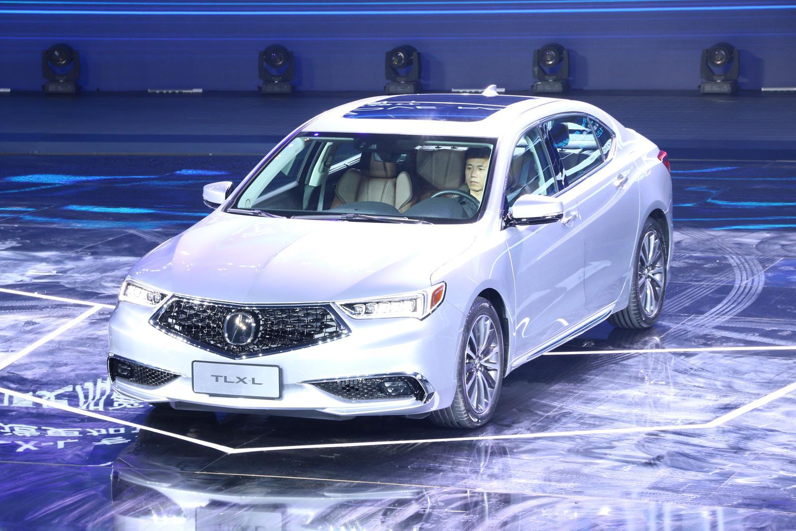 第二款国产车驾到 TLX-L预售价不高于28万