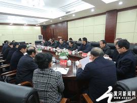山西省政协副主席朱先奇一行在运城进行调研