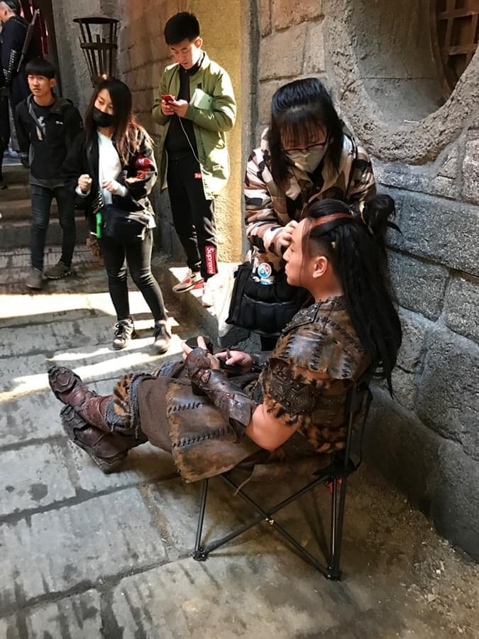 释小龙《武动乾坤》第二阶段拍摄 网友:期待新造型