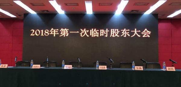 乐视网临时股东大会:董事长孙宏斌缺席