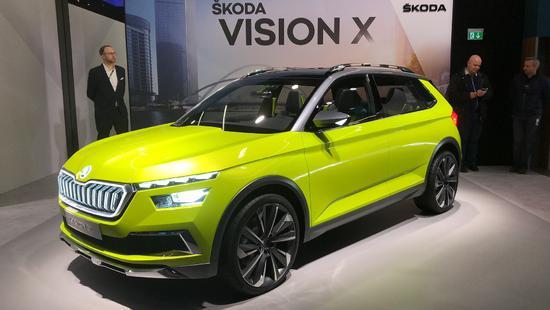 三合一混动 斯柯达VISION X概念车全球首发