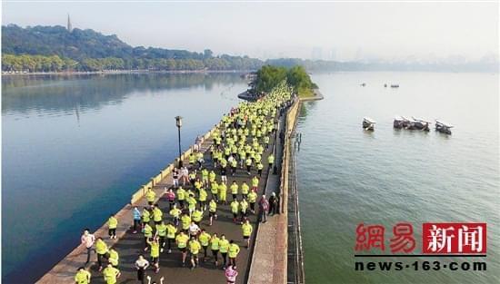 2017杭州马拉松三十而立,牵手昆仑体育开启新篇章