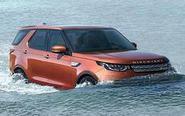 路虎新SUV涉水很轻松