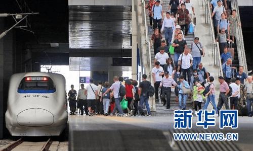 国庆假期铁路预计发送1.3亿人次 这些城市客流集中