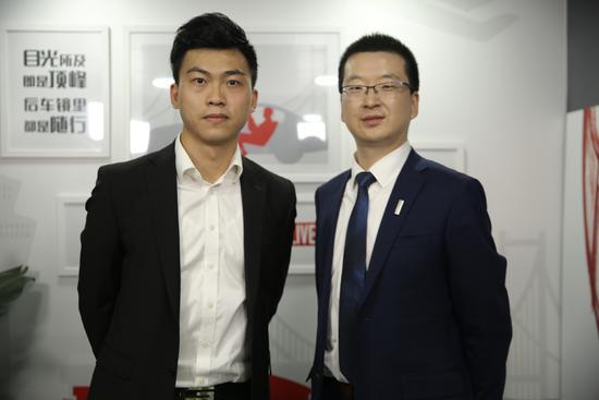 网易汽车主持人与WEY品牌副总经理 刘艳钊