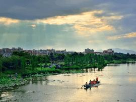 高明秀丽河东岸堤围景观再延伸,预计明年建成