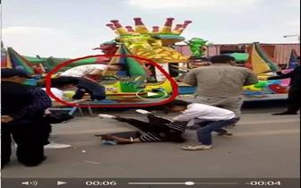 朋友圈疯传咸宁游乐场一儿童头部受到重创么回事?