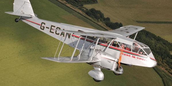 来自80年前的飞行之龙 DH84双发机