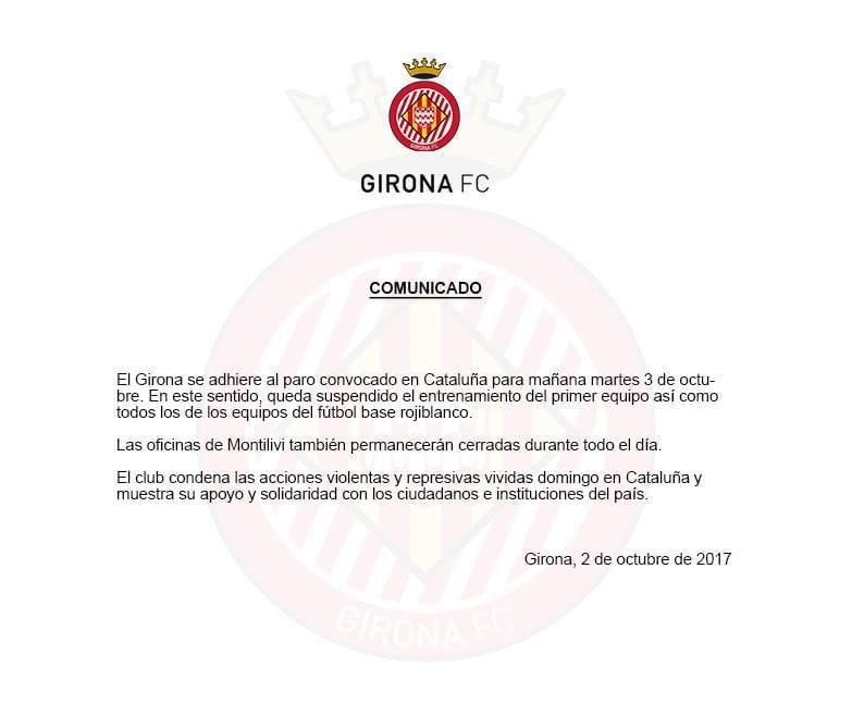 响应巴萨!西甲升班马宣布参与罢工 俱乐部关闭1天
