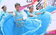 湛江市全民健身活动——千人广场舞演出