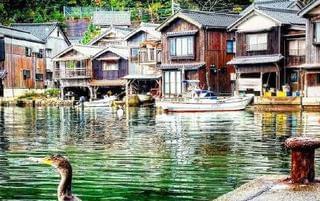 日本最有特色的舟屋