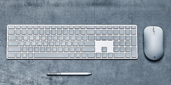 微软正在打造一款内置指纹传感器的蓝牙键盘