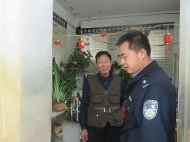 绛县公安局古绛派出所开展校园安全专项检查