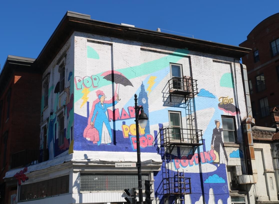 蒙特利尔街头涂鸦