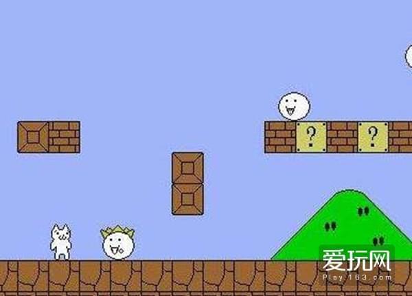 民间的《猫里奥》变成了有无限的生命,游戏乐趣也从通关变成了对诡异设计的探究