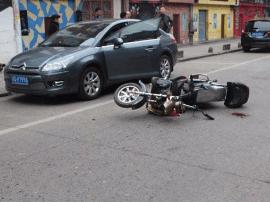 大同路发生3起电动车机动车相撞事故 造成3人受伤