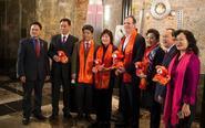 纽约帝国大厦庆祝中国春节