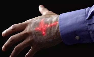 科学家为体育和医学开发电子智能皮肤