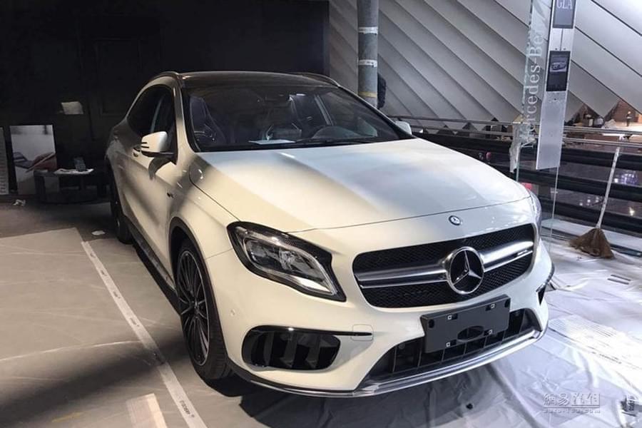 2017上海车展探馆:新款AMG GLA 45