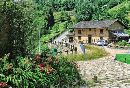 奉节县270年历史古村落对外开放