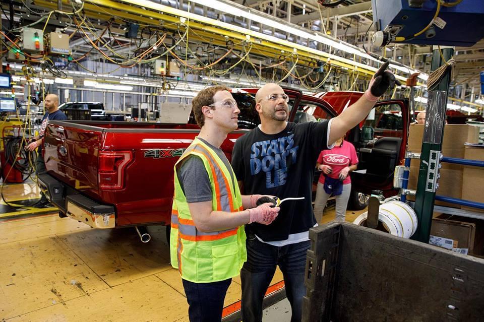 小扎也爱体验生活:进汽车厂当了一把组装工人