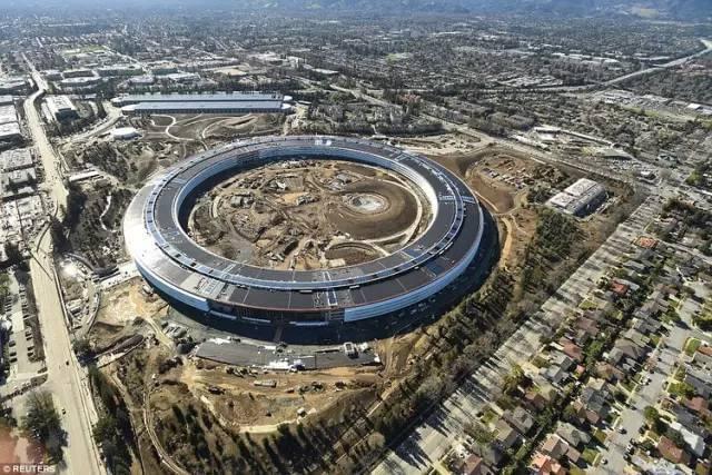 果粉的朝圣地,苹果50亿美金的飞船总部即将上线