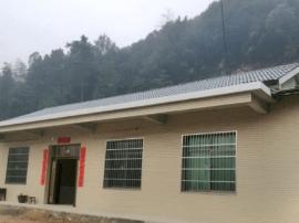 灾后重建:宁乡坝塘重建户元旦搬新家