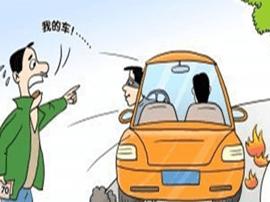 夏县交警发现一盗抢机动车嫌疑人
