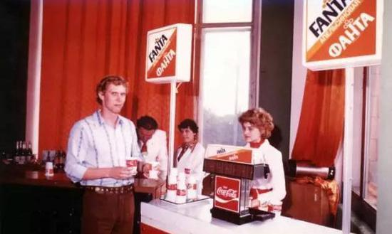 苏联制造的可口可乐和芬达