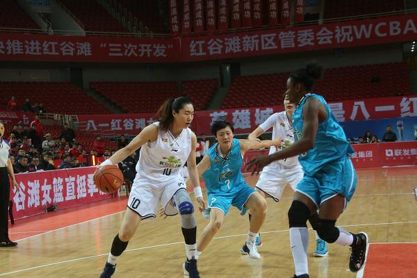 八一女篮主场70-76大庆