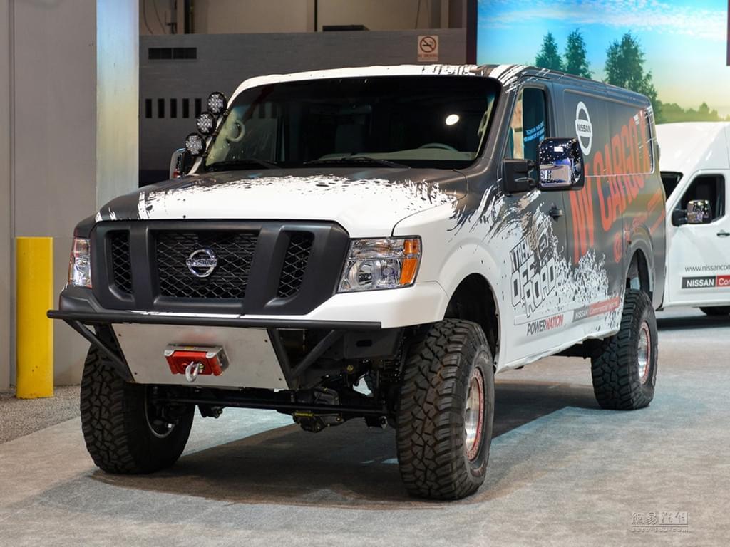 这也算跨界车 日产发布NV Cargo X概念车