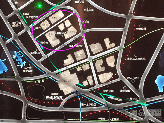 易眼看房| 详解龙华双地铁新盘 周边地块楼面价达5.68万/平