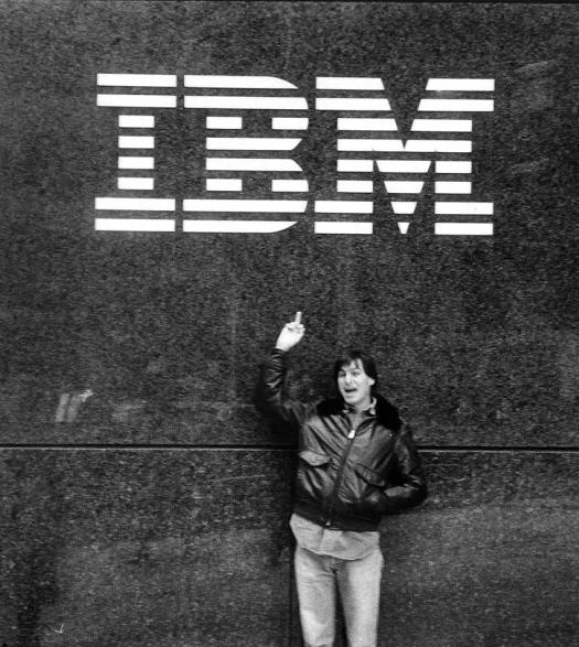 探秘苹果和IBM的共赢合作 苹果在下一盘大棋?的照片 - 2