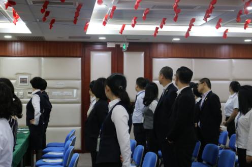 太平人寿佛山分公司工会组织开展健康专题讲座