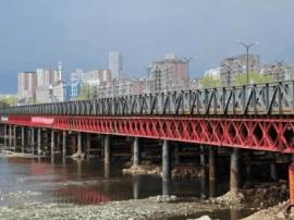 长春自由大桥翻建进行到哪了?便桥建设已近尾声