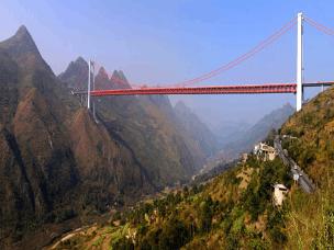 盘点全球十大最高的桥 第1名在中国