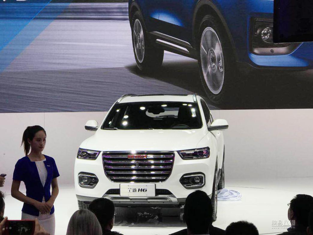 5月25日上市 哈弗H6新车型预售13.5万起